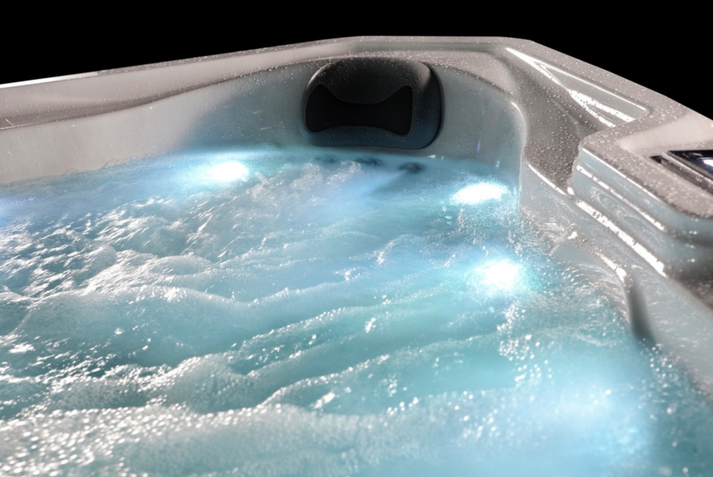 Whitewater Spas Jets and Lights