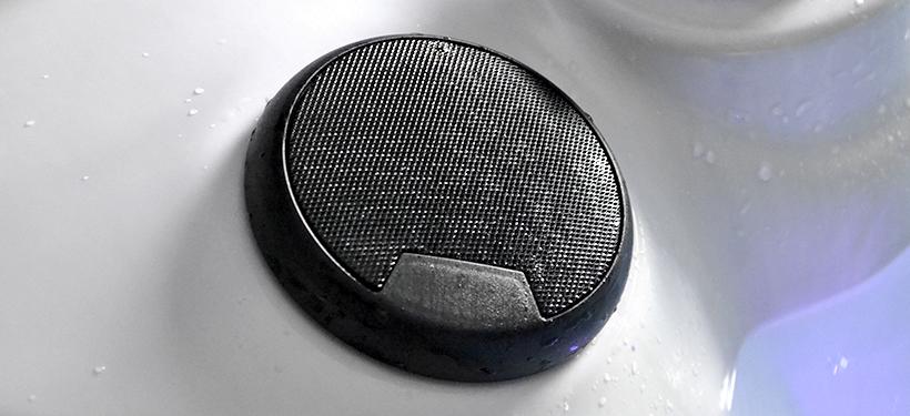 Black Hot Tub Speakers