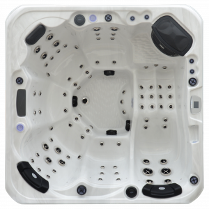 Whitewater Spas Infinity Hot Tub Top View