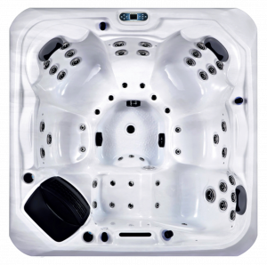 Whitewater Spas Santorini Hot Tub - Top View