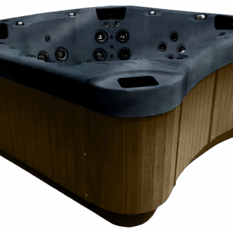 Be Well E770 Hot Tub brown side panels