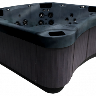 Be Well E770 Hot Tub grey side panel