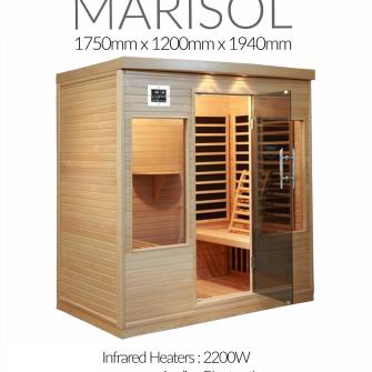 Superior Saunas Marisol Sauna spec sheets