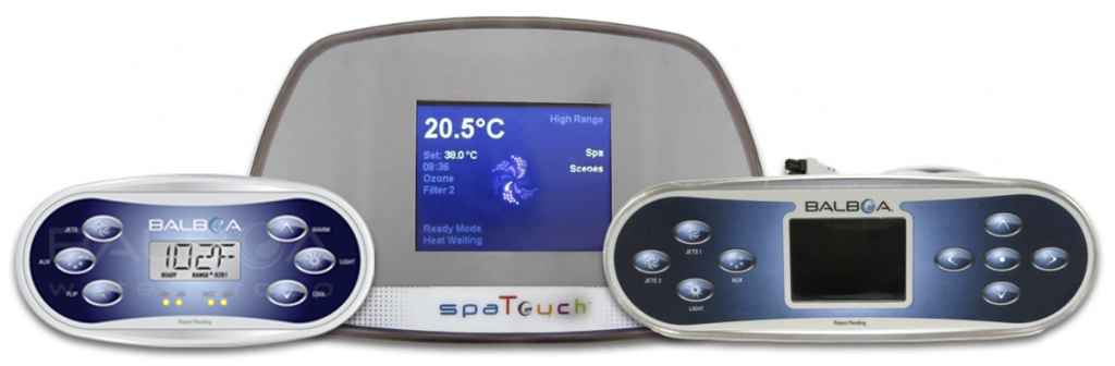 Balboa systems for Trident hot tub