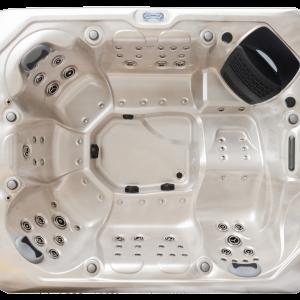 Maximus hot tub high view