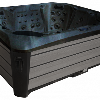 Maximus Hot tub in black/grey