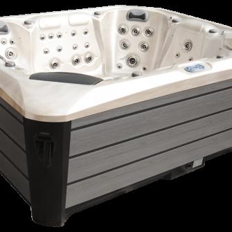 Maximus Hot tub in white/grey